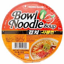 Kimchi Bowl Noodle 12X86gm