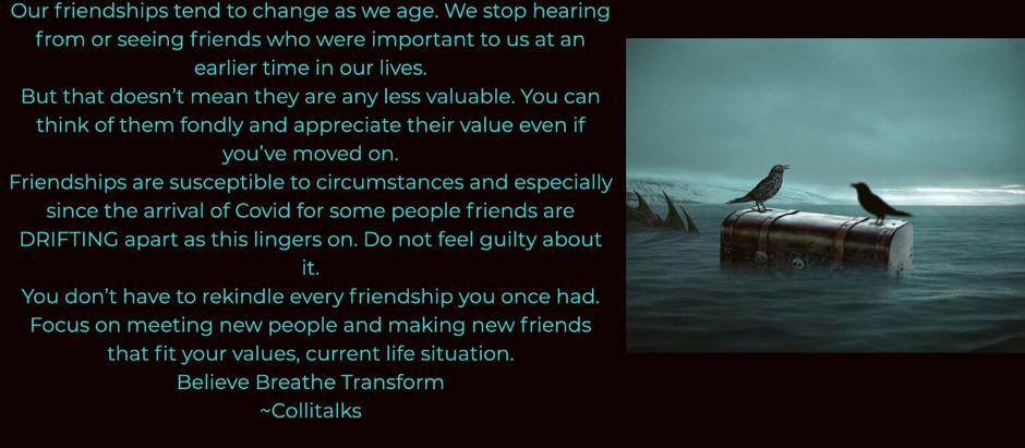 Friends Drifting Apart
