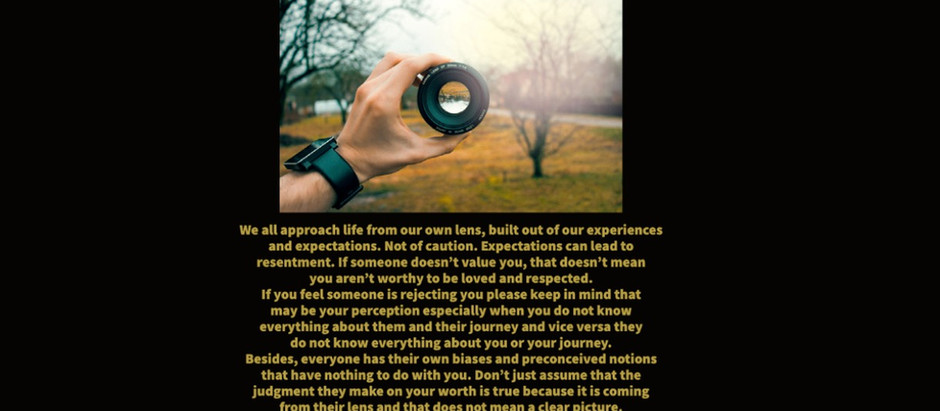 Lens of Perception