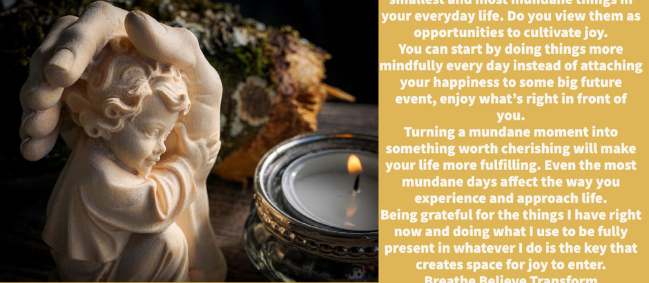 Gratitude for Being Present