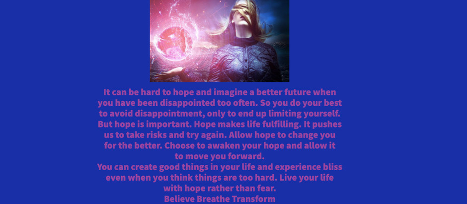 Hard to Imagine A Better Future?