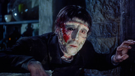 "Warner Archive brings Hammer's game-changing ""The Curse of Frankenstein"" back to life"
