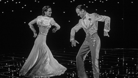 """Fred Astaire and Eleanor Powell light up the screen in """"Broadway Melody of 1940"""""""