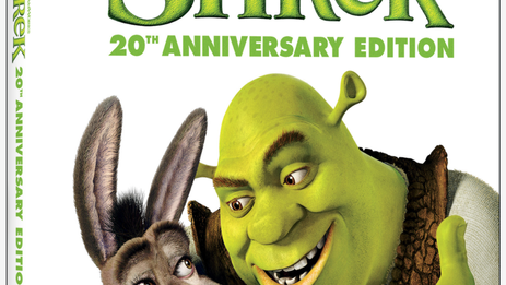 """OFFICIAL:  Fan favorite """"Shrek: 20th Anniversary Edition"""" arrives on 4K Ultra HD – May 11"""