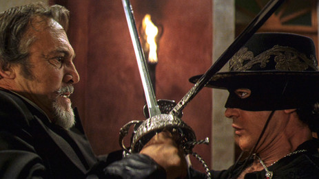 """Sony's restored """"The Mask of Zorro"""" scores on all fronts"""