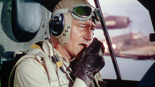 "Soaring high with John Wayne and remastered ""Flying Leathernecks"""