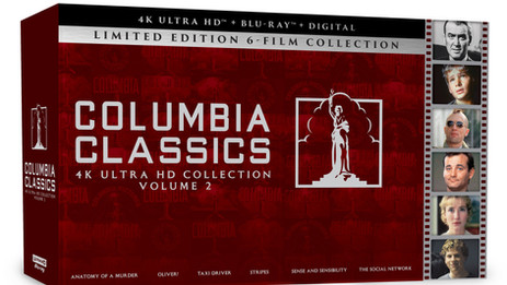 Sony's Columbia Classics 4K Ultra HD Collection Vol. 2 – Sept. 14