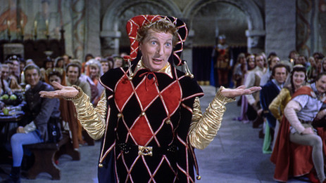 """Danny Kaye rules in """"The Court Jester"""" – Paramount Presents"""