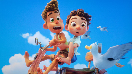 "Summer friends unite in Pixar's ""Luca"""