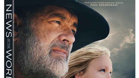 """OFFICIAL: Greengrass' powerful western """"News of the World"""" arrives on 4K Ultra HD - March 23"""
