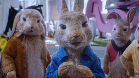 """Humans and bunnies bring the fun in """"Peter Rabbit 2: The Runaway"""""""
