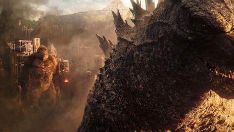 "See a 4K UHD monster showdown: ""Godzilla vs. Kong"""