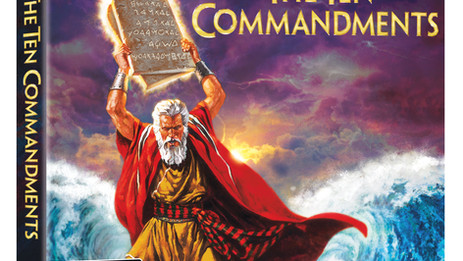 "Cecil B. DeMille's Biblical epic ""The Ten Commandments"" - 4K Ultra HD - March 30"