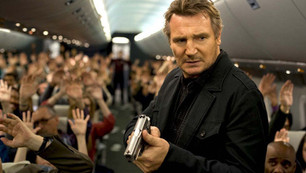 "Liam Neeson takes the action to the air in ""Non-Stop"""