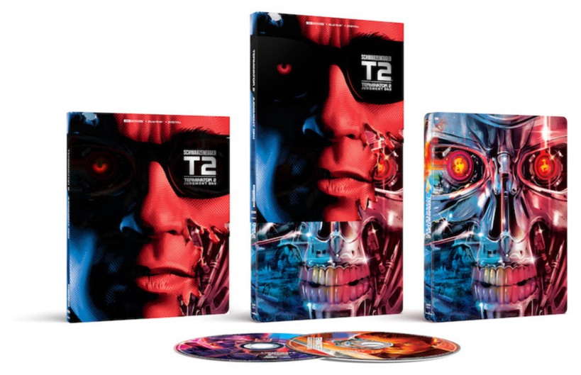 """Will the new 30th Anniv. """"T2"""" Best Buy Steelbook feature the right 4K master? – Nov. 23"""