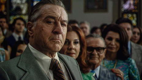 "Scorsese trades sentimentality for poignancy in rich, rewarding ""The Irishman"""