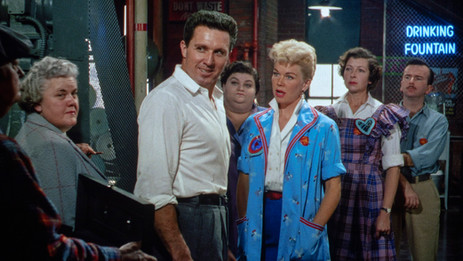 """Brilliant color rules """"The Pajama Game"""" – Warner Archive Collection"""