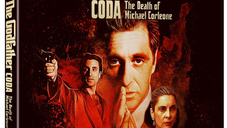"""Coppola's new edit of """"The Godfather: Part III"""" arrives on Blu-ray & MIA on 4K Ultra HD - Dec. 8"""