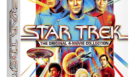 """OFFICIAL: """"Star Trek 4-Movie Collection"""" takes off on 4K Ultra HD – Sept. 7"""