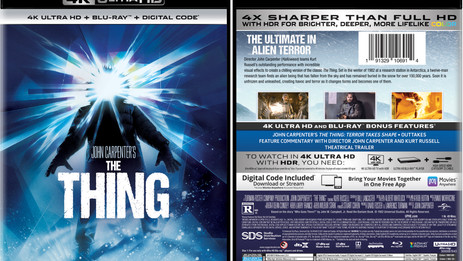 """OFFICIAL: John Carpenter's """"The Thing"""" premieres on 4K Ultra HD – Sept. 7"""