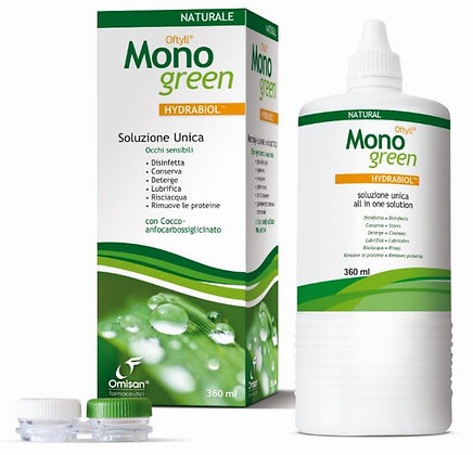 MONOGREEN Solución única Natural 360ml Ref.7097