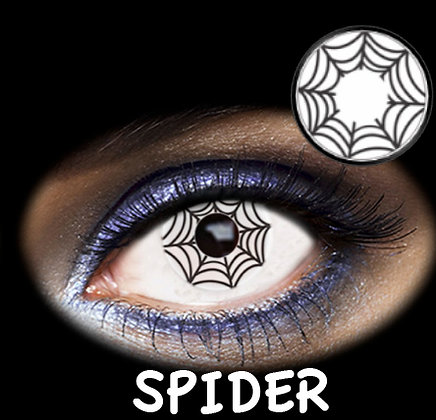 LENTILLA FANTASIA 1 DAY SPIDER 2PK