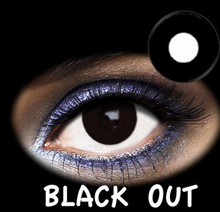 LENTILLA FANTASIA 1 DAY BLACK OUT 2PK