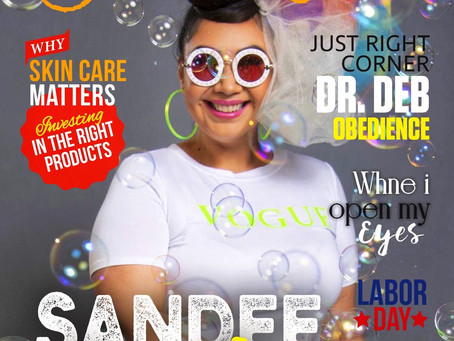 Sandee Bonita Opens Up To Just Right Magazine