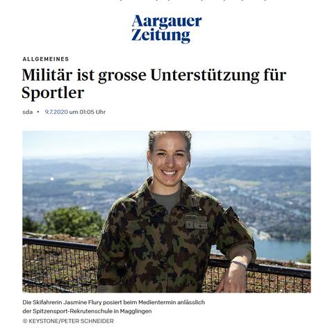Aargauer Zeitung 09. Juli 2020