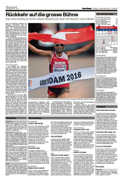 Basler Zeitung, 03.11.17