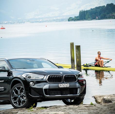 Jeannine Gmelin - Partnerschaft mit BMW