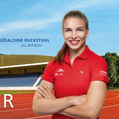 Géraldine Ruckstuhl |Partnerschaft mit Knutwiler