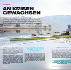 Jeannine Gmelin   Magazin Sportlerin Juli 2021