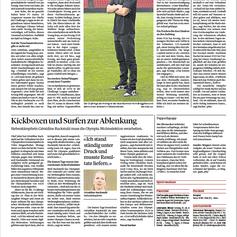 Géraldine Ruckstuhl   Zofinger Tagblatt Juli 2021