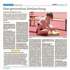 Géraldine Ruckstuhl   Unter-Emmentaler Juli 2021