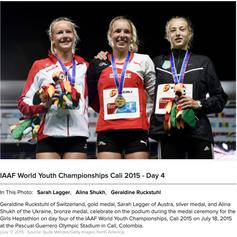 Géraldine Ruckstuhl - Youth World Champion 2015