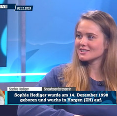 Sophie Hediger - 1on1 Sportal HD Dezember 2019