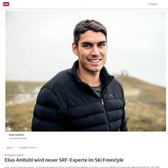 Elias Ambühl - SRF November 2018