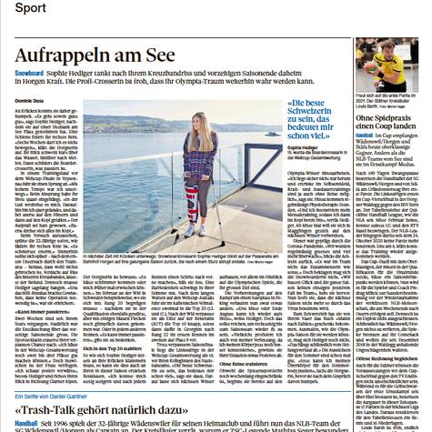 Zürichsee Zeitung 01. April 2021