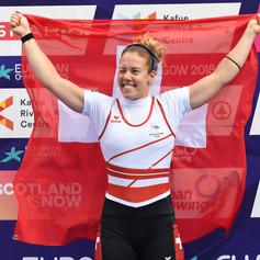 Jeannine Gemlin - Vize-Europameisterin 2018