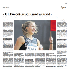 Géraldine Ruckstuhl   Luzerner Zeitung Juli 2021