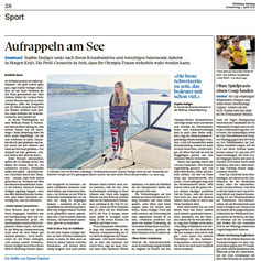 Sophie Hediger | Zürichsee Zeitung April 2021