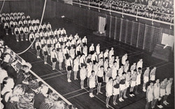 1948 In the College Gymnasium Pupils see