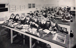 1949 One of the Chemistry Laboratories