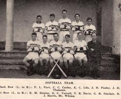 1947 Softball Team