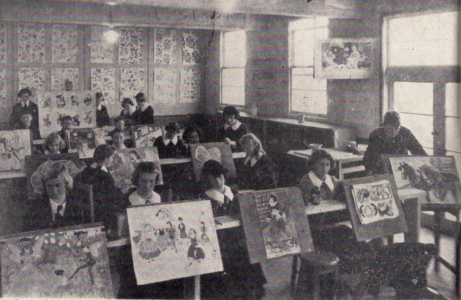 1951 Art Class