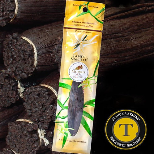 Tahitian vanilla pod, World's best vanilla (1 unit)