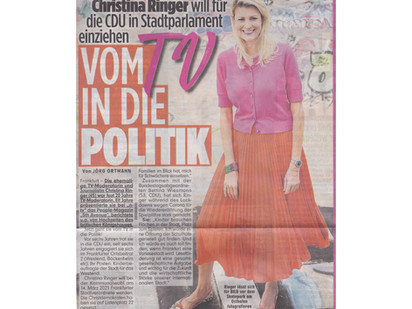 BILD Frankfurt: Vom TV in die Politik