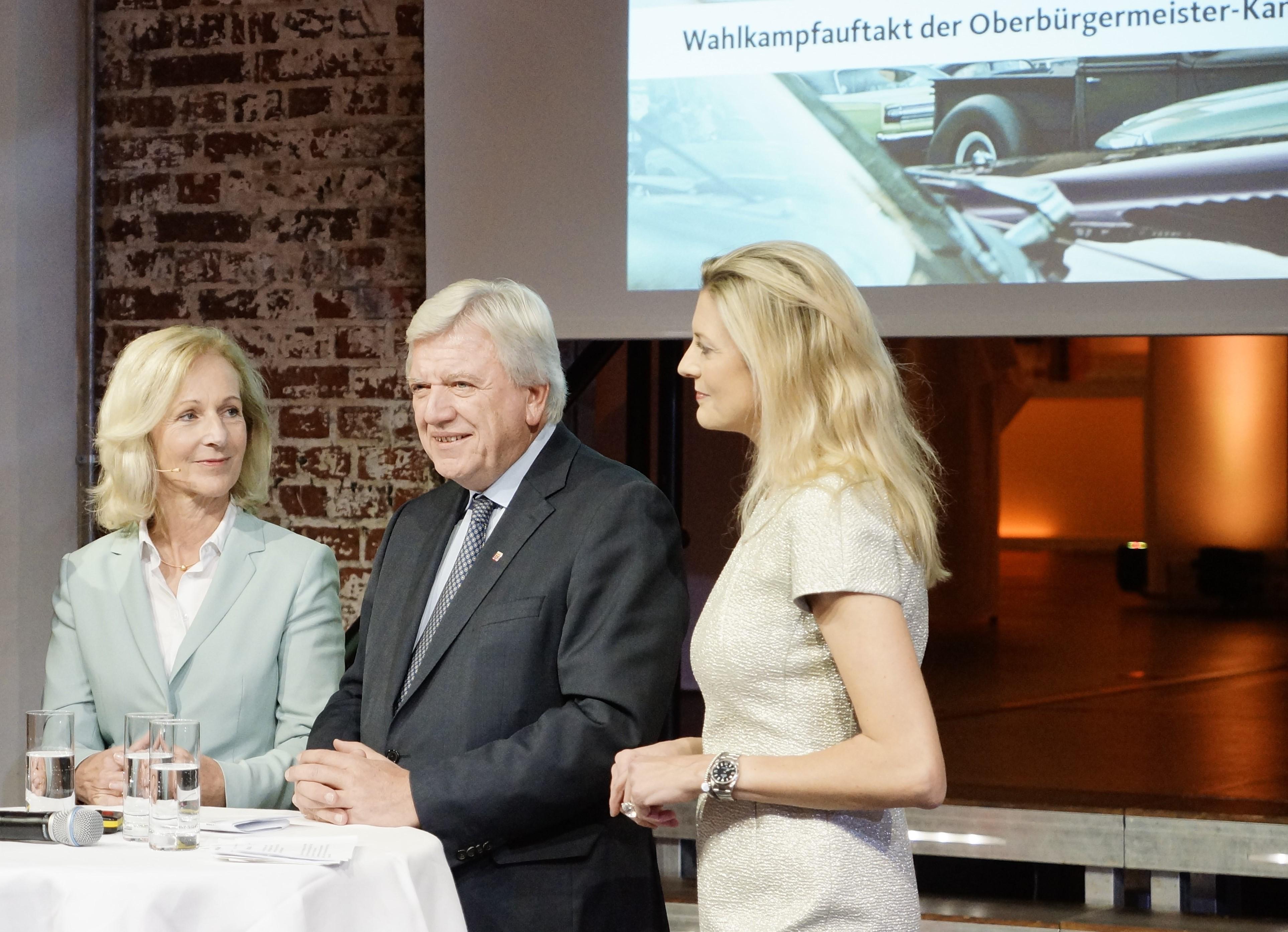Mit Volker Bouffier