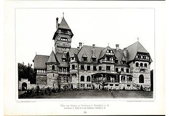 Wilhelm Kick (Hrsg.): Moderne Neubauten, 2. Jahrgang, Stuttgarter Architektur-Verlag Kick, Stuttgart 1898.